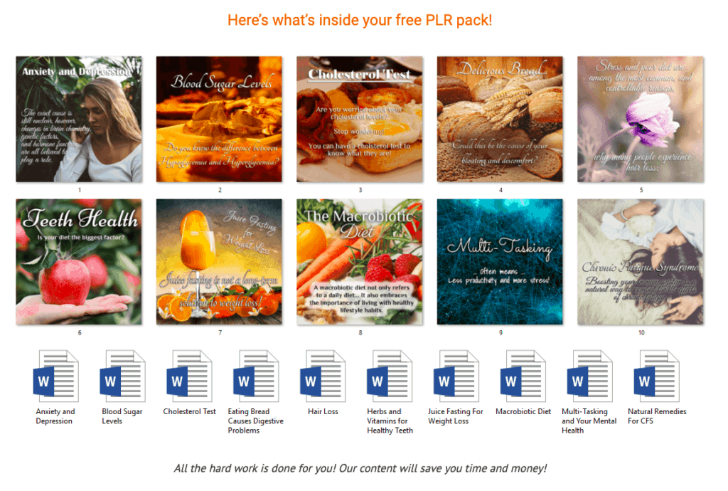how to find good PLR