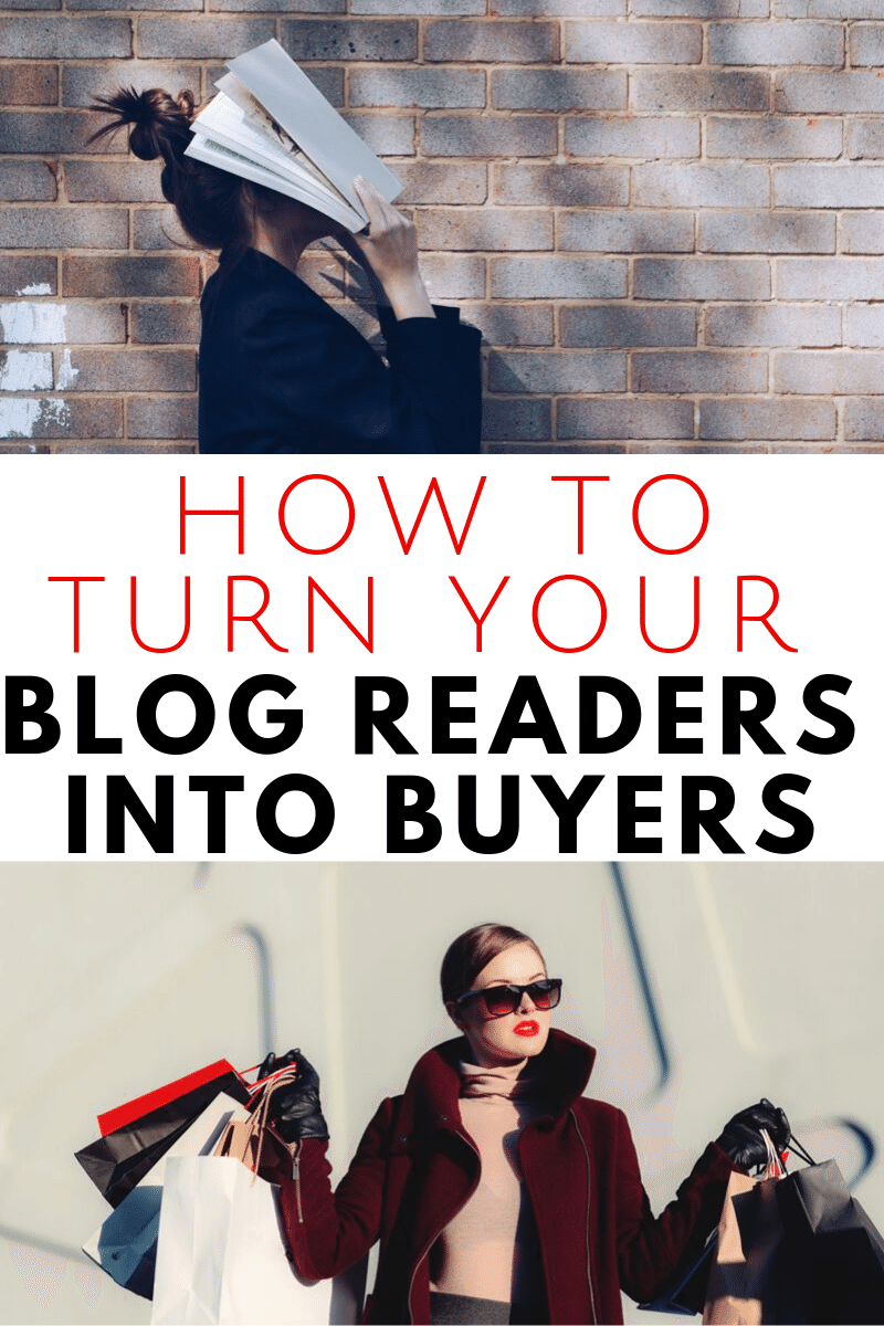 How to Turn Your Blog Readers into Buyers