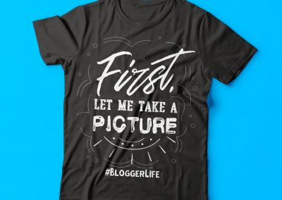 First Let Me Take a Picture TShirt
