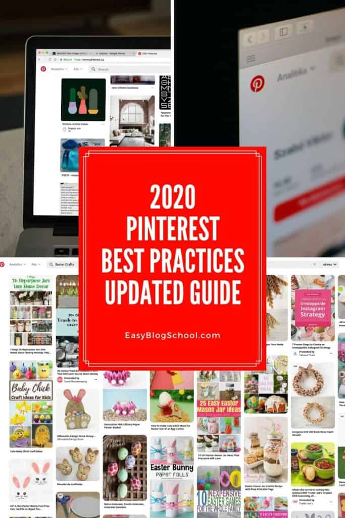 Collage image for Pinterest best practices