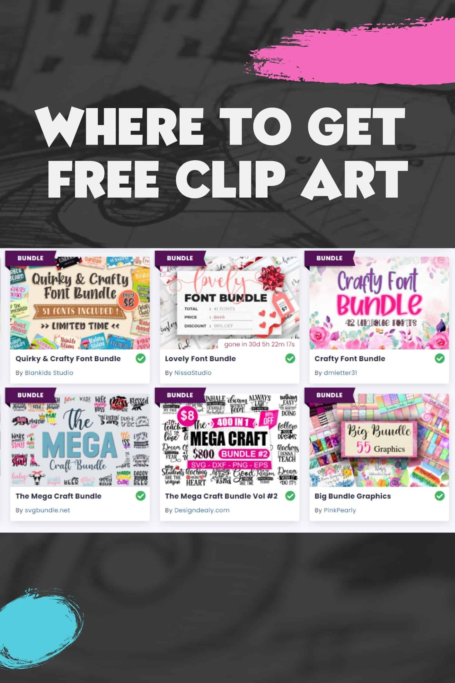 Best Sources of Free Clip Art – and Why I Don't Use It