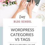 Category v Tag Pinterest