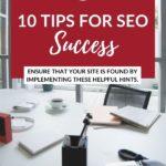 10 Tips for SEO Success PInterest 1