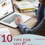 10 Tips for SEO Success PInterest